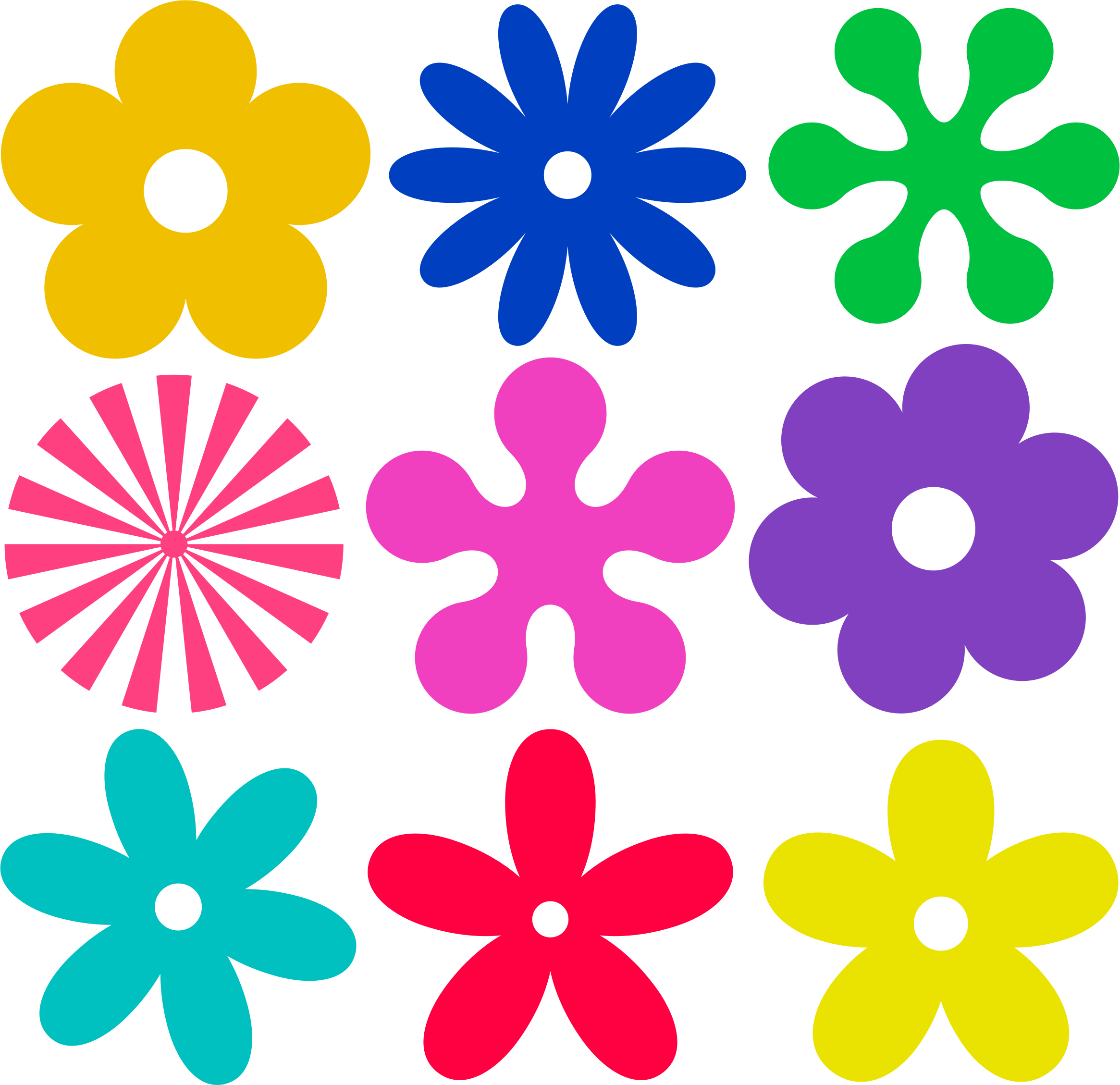 Retro flower clipart png freeuse stock Clipart - Retro Flower png freeuse stock