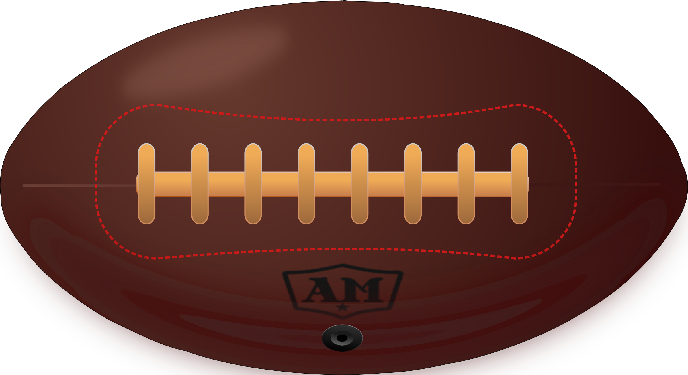 Clipart - Vintage American Football picture free download