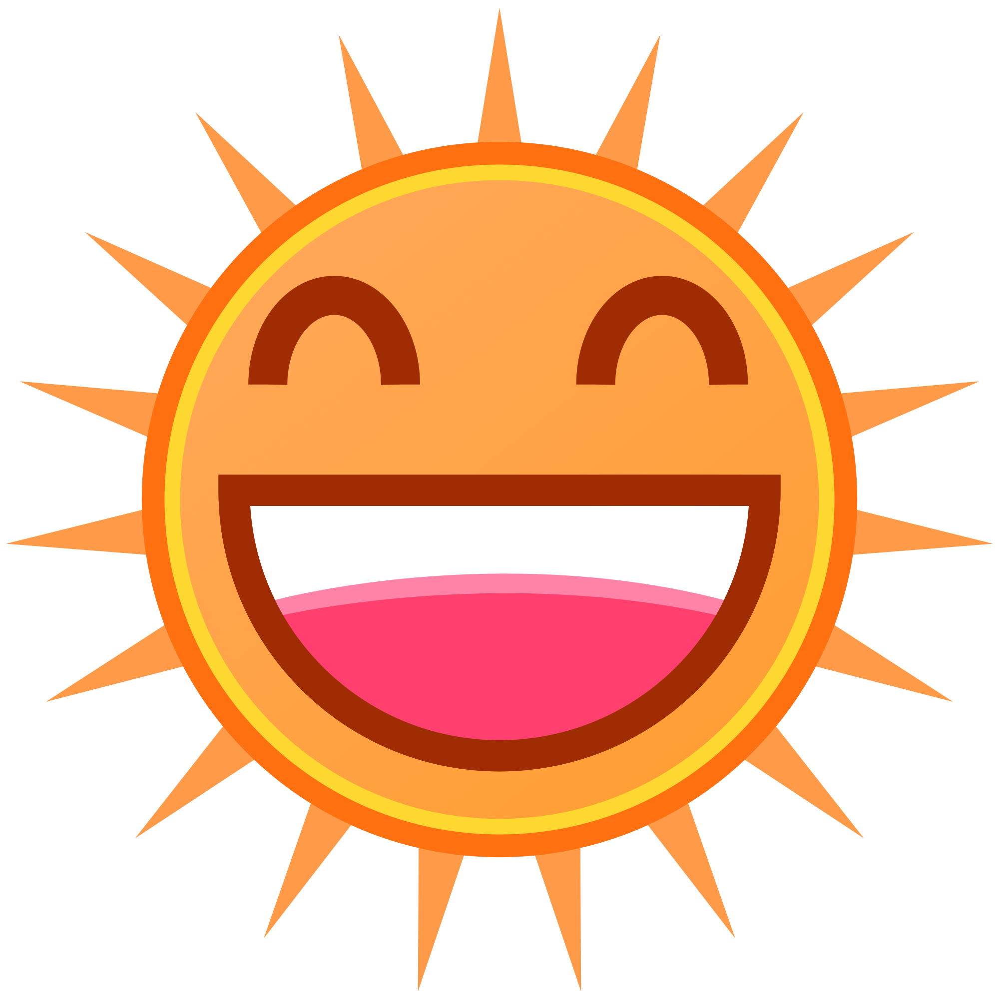The sun with a face clipart picture freeuse library  picture freeuse library