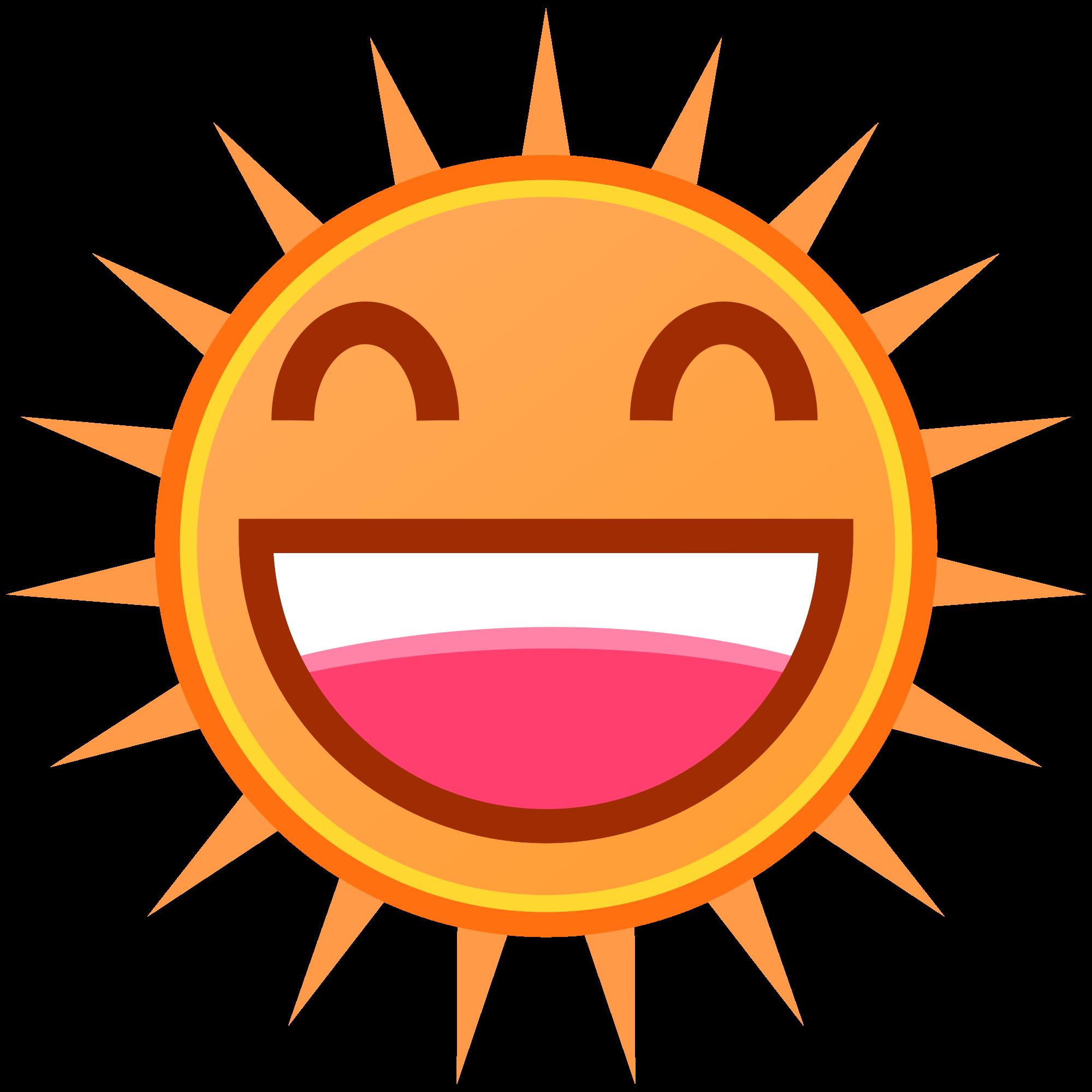 Retro sun clipart clip art freeuse  clip art freeuse