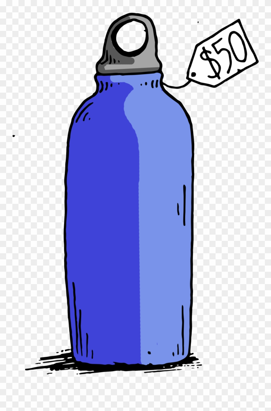 Reusable water bottle clipart royalty free Price Gouging Reusable Bottles At The Expense Of The - Water ... royalty free