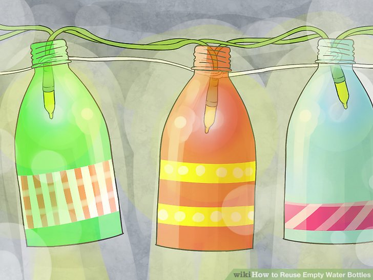 Reusing an idea clipart jpg freeuse library 3 Ways to Reuse Empty Water Bottles - wikiHow jpg freeuse library