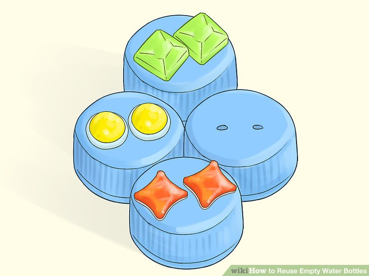 Reusing an idea clipart vector royalty free library 3 Ways to Reuse Empty Water Bottles - wikiHow vector royalty free library