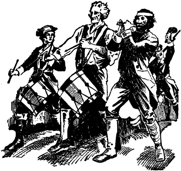 Revoluntionary war black and white clipart clip art black and white library Free Revolutionary War Cliparts, Download Free Clip Art ... clip art black and white library