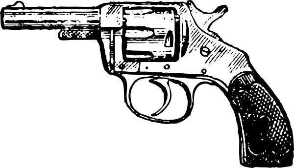 Revolver clipart image royalty free stock Revolver clip art Free vector in Open office drawing svg ... image royalty free stock