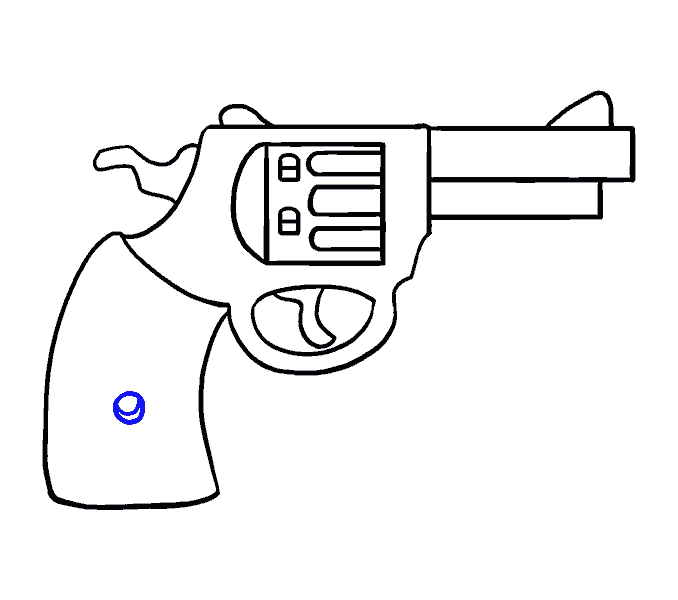 Revolver cross clipart clip library 28+ Collection of Gun Revolver Drawing | High quality, free cliparts ... clip library