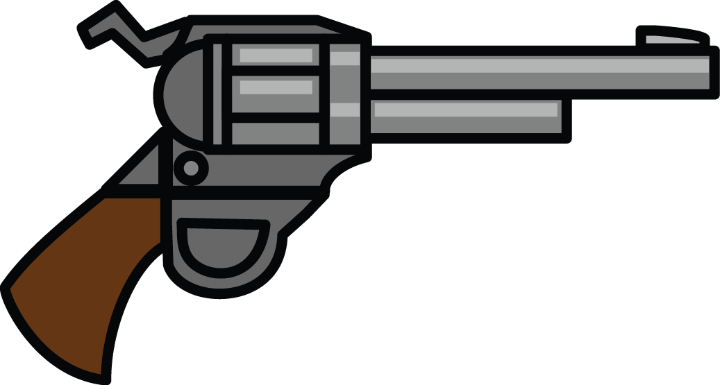 Revolver cross clipart black and white 28+ Collection of Clipart Of A Gun | High quality, free cliparts ... black and white