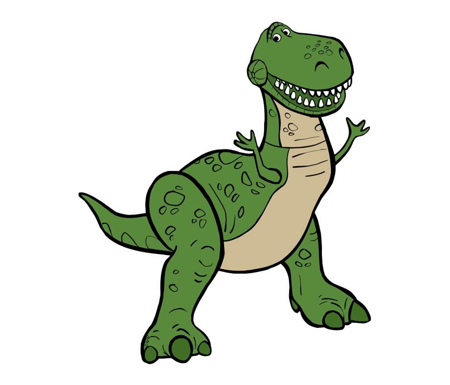 Rex clipart image black and white Rex - Toy Story 4 Rex Clipart, Transparent Png Download For ... image black and white