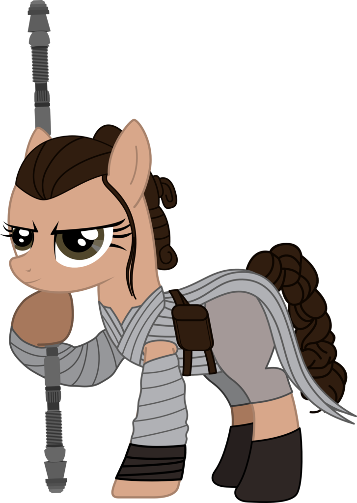 Star wars rey clipart clipart free download 1417909 - artist:sonofaskywalker, ponified, pony, rey, safe, solo ... clipart free download
