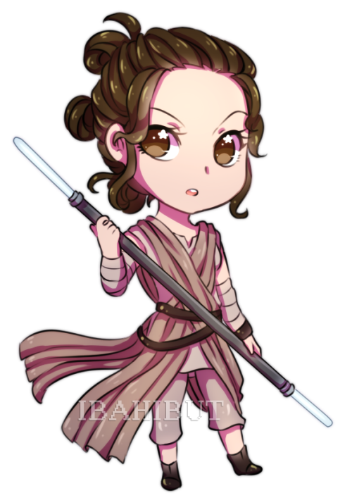 Star wars rey clipart transparent library Chibi Rey | ⭐ STAR WARS ⭐ | Pinterest | Chibi, Star and Star ... transparent library