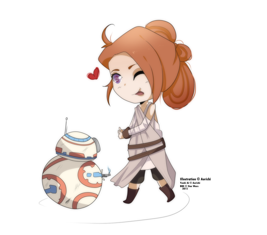 Star wars rey clipart clipart library Yuuki: Rey cosplay and BB8 by Wofiira on DeviantArt clipart library