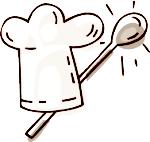 Rezepte bilder clipart vector library stock Kochen und Backen vector library stock