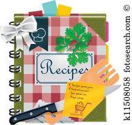 Rezepte bilder clipart image black and white library Rezepte Clip Art EPS Bilder. 15.670 rezepte Clip Art Vektor ... image black and white library