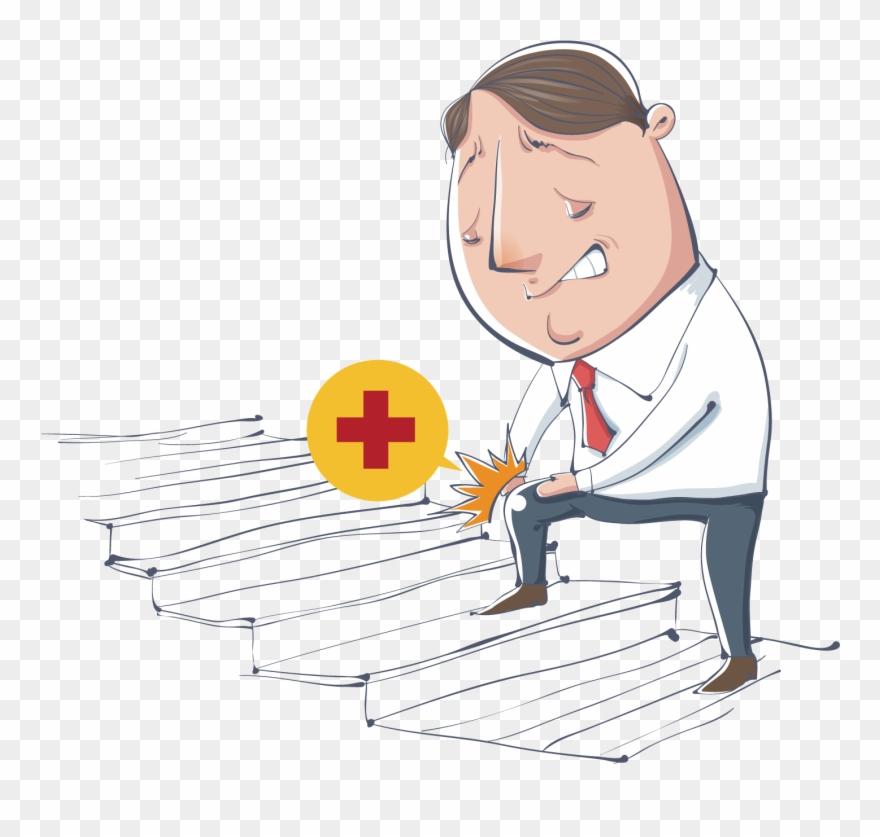 Rheumatoid arthritis clipart svg library Osteoarthritis Rheumatoid Arthritis On The Stairs Knock ... svg library