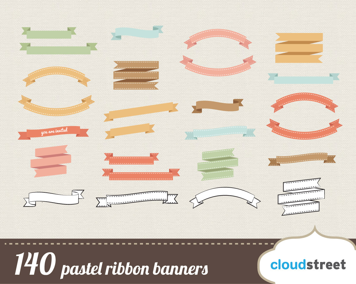 Ribbon banner clipart free clip art library Free Banner Bow Clipart clip art library