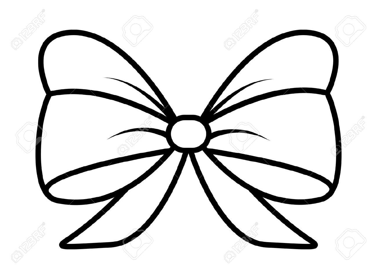 Ribbon bow clipart black and white picture black and white download Ribbon bow clipart black and white 5 » Clipart Portal picture black and white download