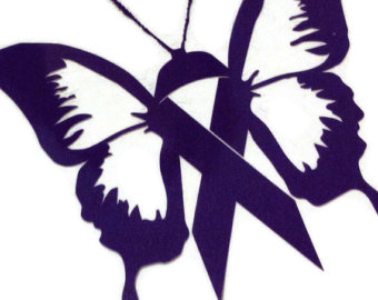 Ribbon butterfly clipart png black and white stock Cancer ribbon butterfly clipart - ClipartFest png black and white stock