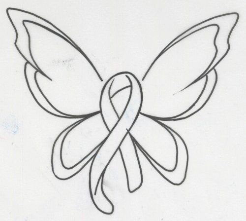 Ribbon butterfly clipart jpg black and white stock Ribbon butterfly clipart - ClipartFest jpg black and white stock