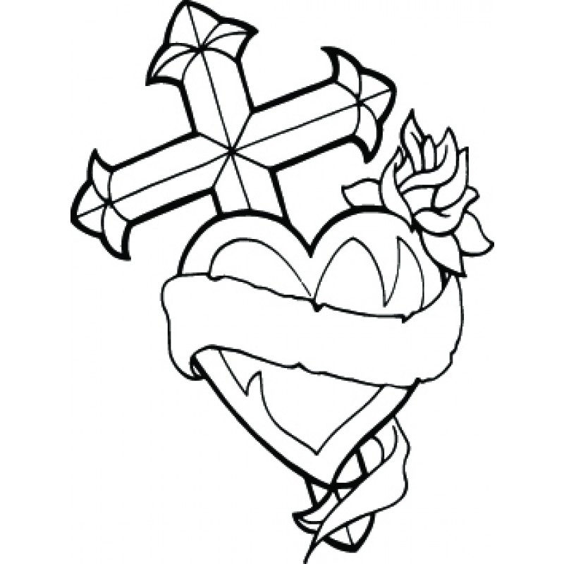 Ribbon clipart black and white upper and lower banner royalty free stock Free Heart And Ribbon Tattoo Designs, Download Free Clip Art ... banner royalty free stock