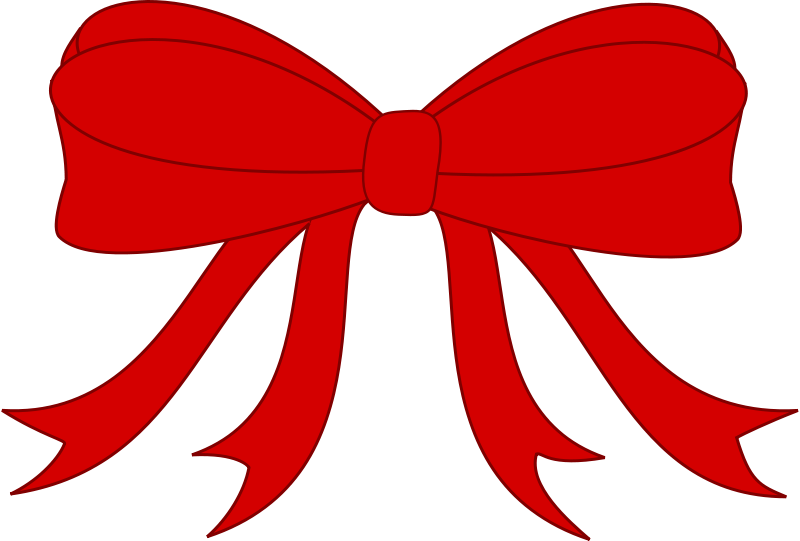 Ribbon clipart red picture royalty free Free Clipart: Red Bowed Ribbon | GR8DAN picture royalty free