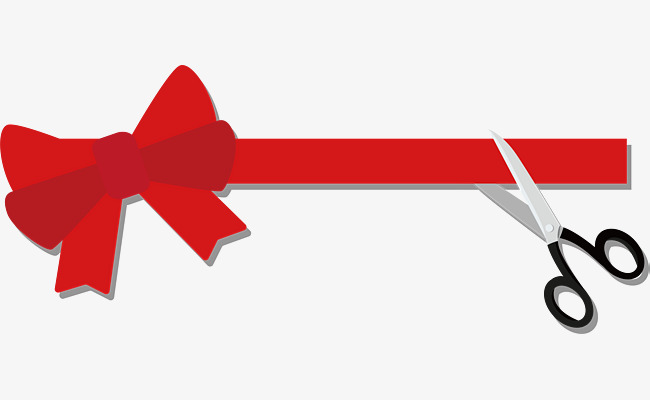 Free ribbon cutting clipart png freeuse Red Ribbon Ribbon Cutting, Ribbon Vector #95888 - PNG Images ... png freeuse