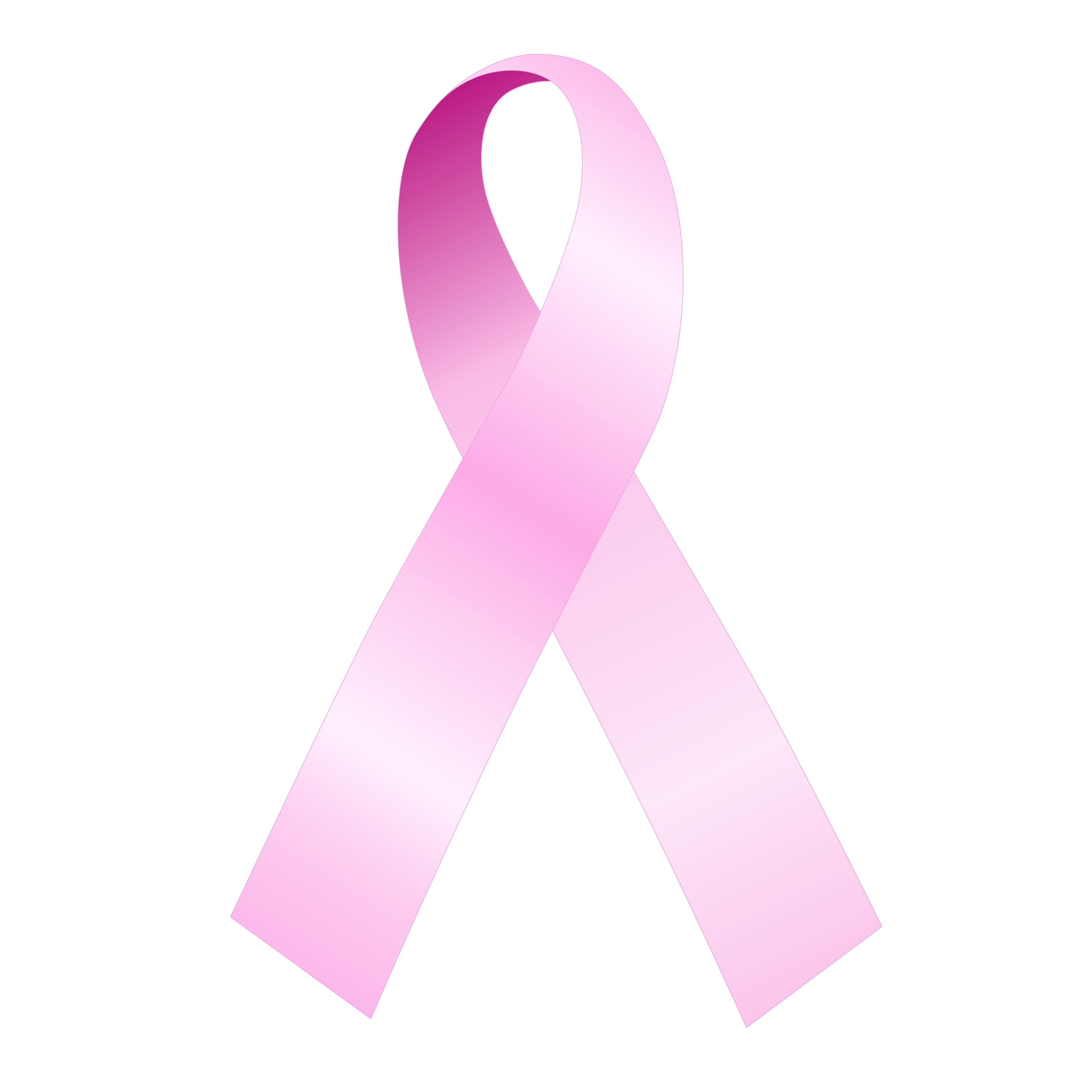 Ribbon transparent background clipart stock Breast Cancer Awareness Ribbons stock
