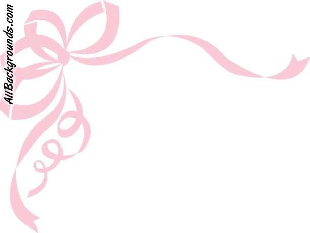 Ribbon transparent background clipart jpg download Pink Ribbon Border Clipart - Clipart Kid jpg download