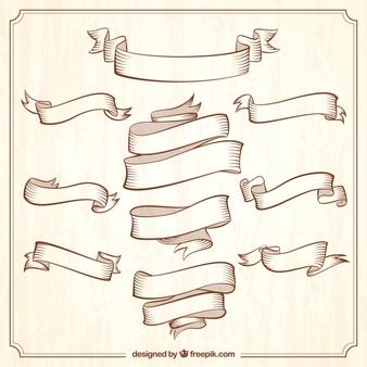 Ribbon vector vintage clipart clip royalty free Ribbons vectors, +59,000 free files in .AI, .EPS format clip royalty free