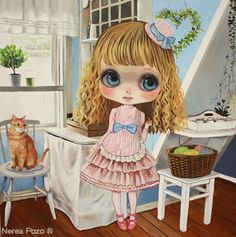 Ribonetta clipart clip freeuse stock 145 Best Clipart dolls images in 2018 | Dolls, Blythe dolls ... clip freeuse stock