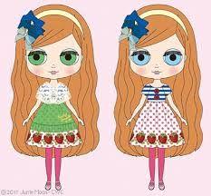 Ribonetta clipart clipart transparent stock 8 Best Blythe Illustrations images in 2015 | Blythe dolls ... clipart transparent stock