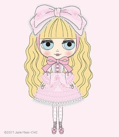 Ribonetta clipart vector royalty free 174 Best Blythe Drawing images in 2017 | Blythe dolls ... vector royalty free