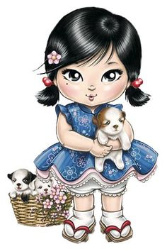 Ribonetta clipart picture free stock 145 Best Clipart dolls images in 2018 | Dolls, Blythe dolls ... picture free stock