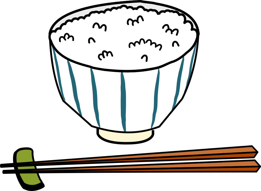 Rice bowl clipart image library library OnlineLabels Clip Art - Japanese Rice Bowl image library library
