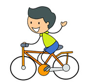 Ride bike clipart vector black and white stock Free Bicycle Rider Cliparts, Download Free Clip Art, Free ... vector black and white stock
