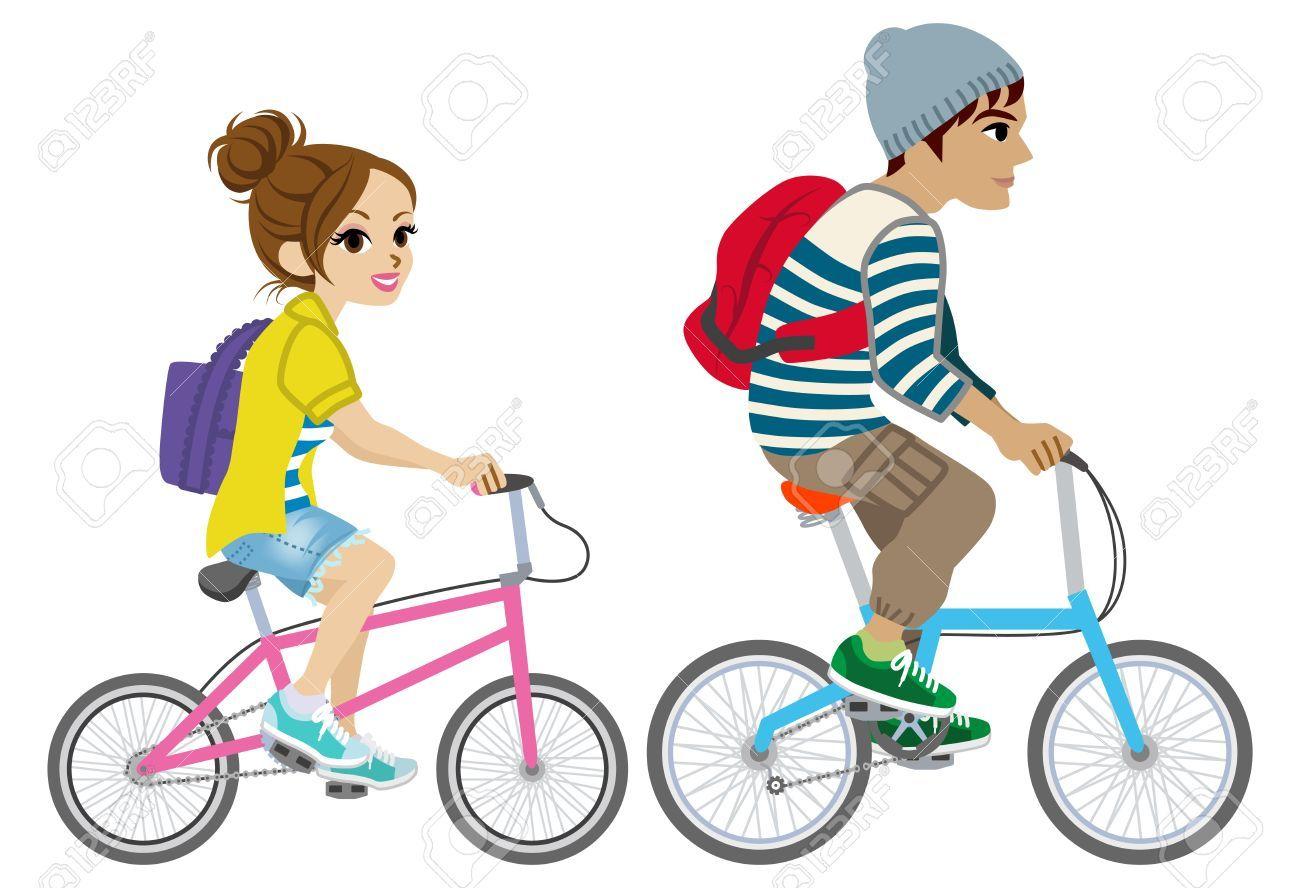 Riding bikes clipart svg download Riding bike clipart 3 » Clipart Portal svg download