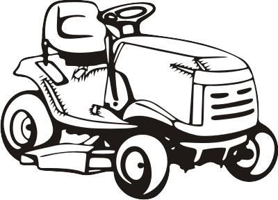 Riding lawn mower black and white with clipart graphic stock Lawn mower pink riding mower clipart | Sully\'s bday | Riding ... graphic stock