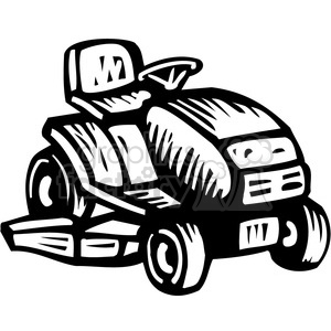 Riding lawn mower clipart black and white image royalty free download black and white riding lawn mower clipart. Royalty-free clipart # 384908 image royalty free download