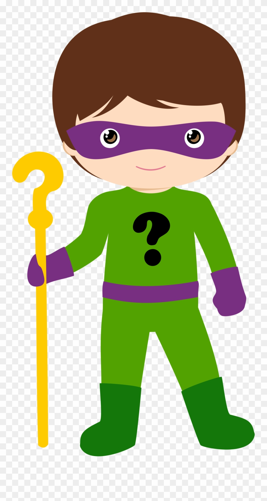 Superhero costume clipart banner download Costume Clipart Superhero Dad - Riddler Clipart - Png ... banner download