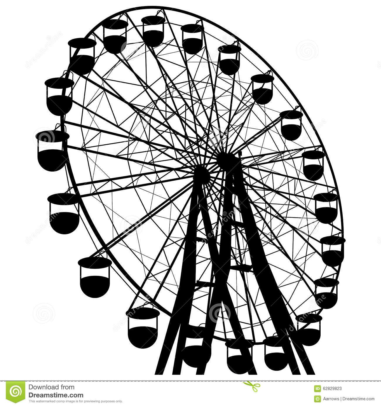 Riesenrad clipart kostenlos vector freeuse stock Bewegung Riesenrad Stock Illustrationen, Vektors, & Klipart – (54 ... vector freeuse stock