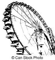 Riesenrad clipart kostenlos clip royalty free Riesenrad Stock Illustrationen Bilder. 3.433 Riesenrad ... clip royalty free