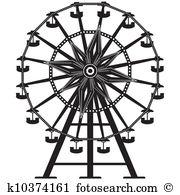 Riesenrad clipart kostenlos clip art freeuse download Ferris wheel Clipart EPS Images. 3,015 ferris wheel clip art ... clip art freeuse download