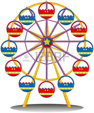 Riesenrad clipart kostenlos vector free 4,137 Ferris Wheel Stock Vector Illustration And Royalty Free ... vector free