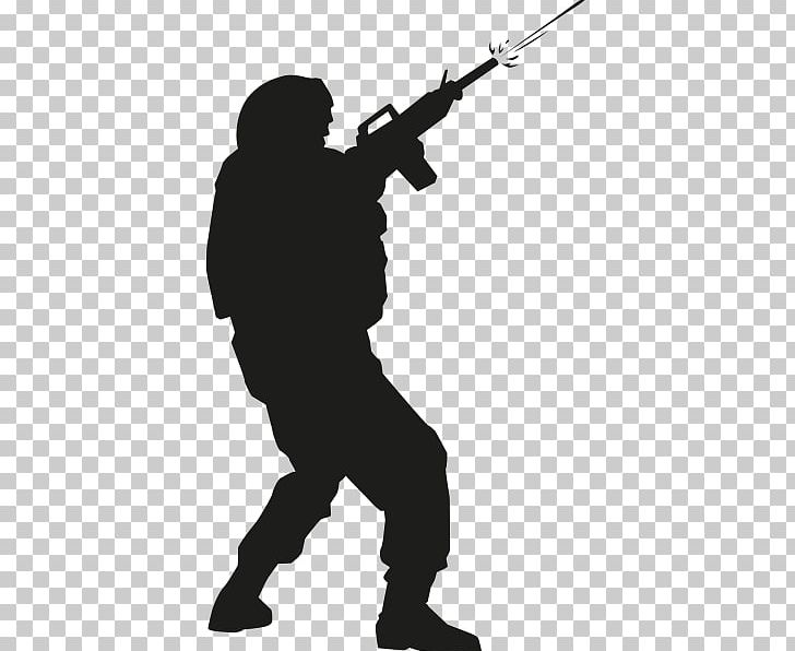 Rifle shooting sihouette standing clipart vector freeuse stock Soldier Sniper Rifle Silhouette Infantry PNG, Clipart, Asker ... vector freeuse stock