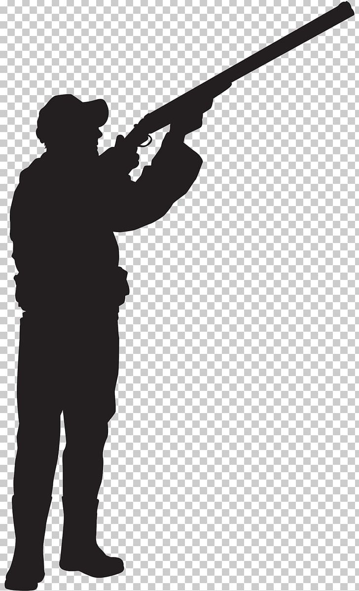 Rifle shooting sihouette standing clipart svg royalty free download Hunting Silhouette Shooting Sport PNG, Clipart, Angle ... svg royalty free download