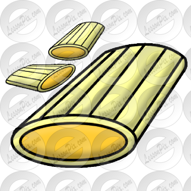 Rigatoni clipart picture transparent Rigatoni Picture for Classroom / Therapy Use - Great ... picture transparent