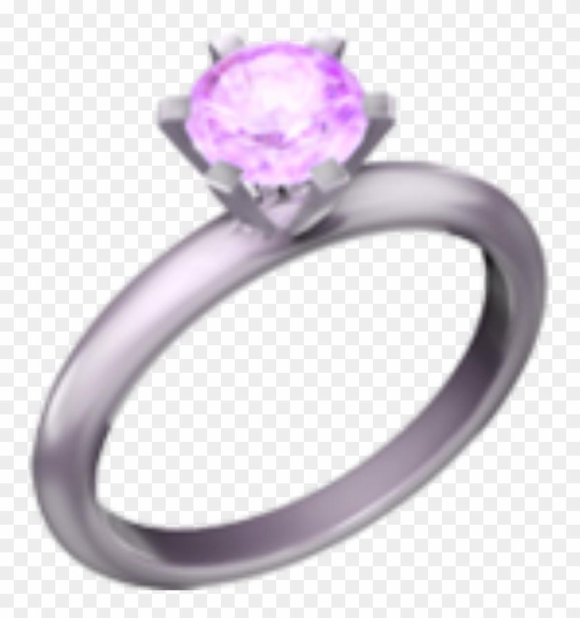 Ring emoji clipart clip art freeuse stock Pink Diamond Emoji Ring Tumblr Aesthetic - Ios Ring Emoji ... clip art freeuse stock