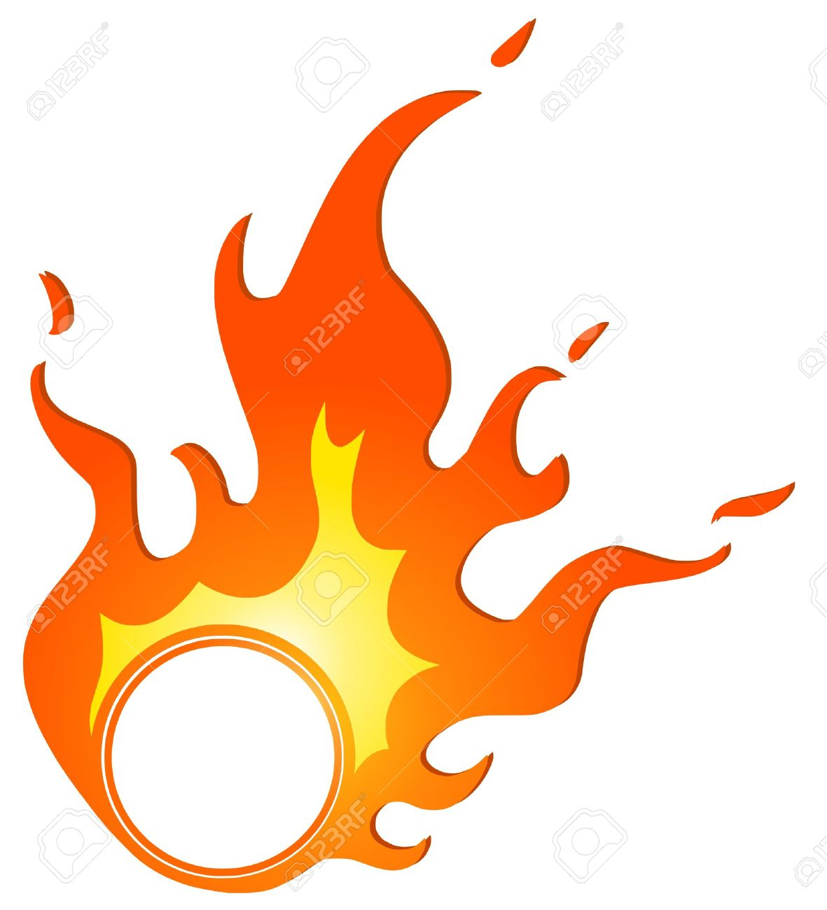 Ring of fire clipart svg black and white stock Ring of fire clipart 4 » Clipart Station svg black and white stock