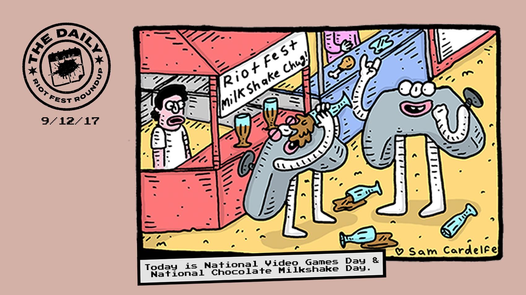 Riot fest clipart graphic free Daily Riot Fest Roundup | Riot Fest graphic free