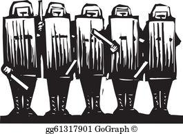 Riot shield clipart picture free stock Riot Shield Clip Art - Royalty Free - GoGraph picture free stock