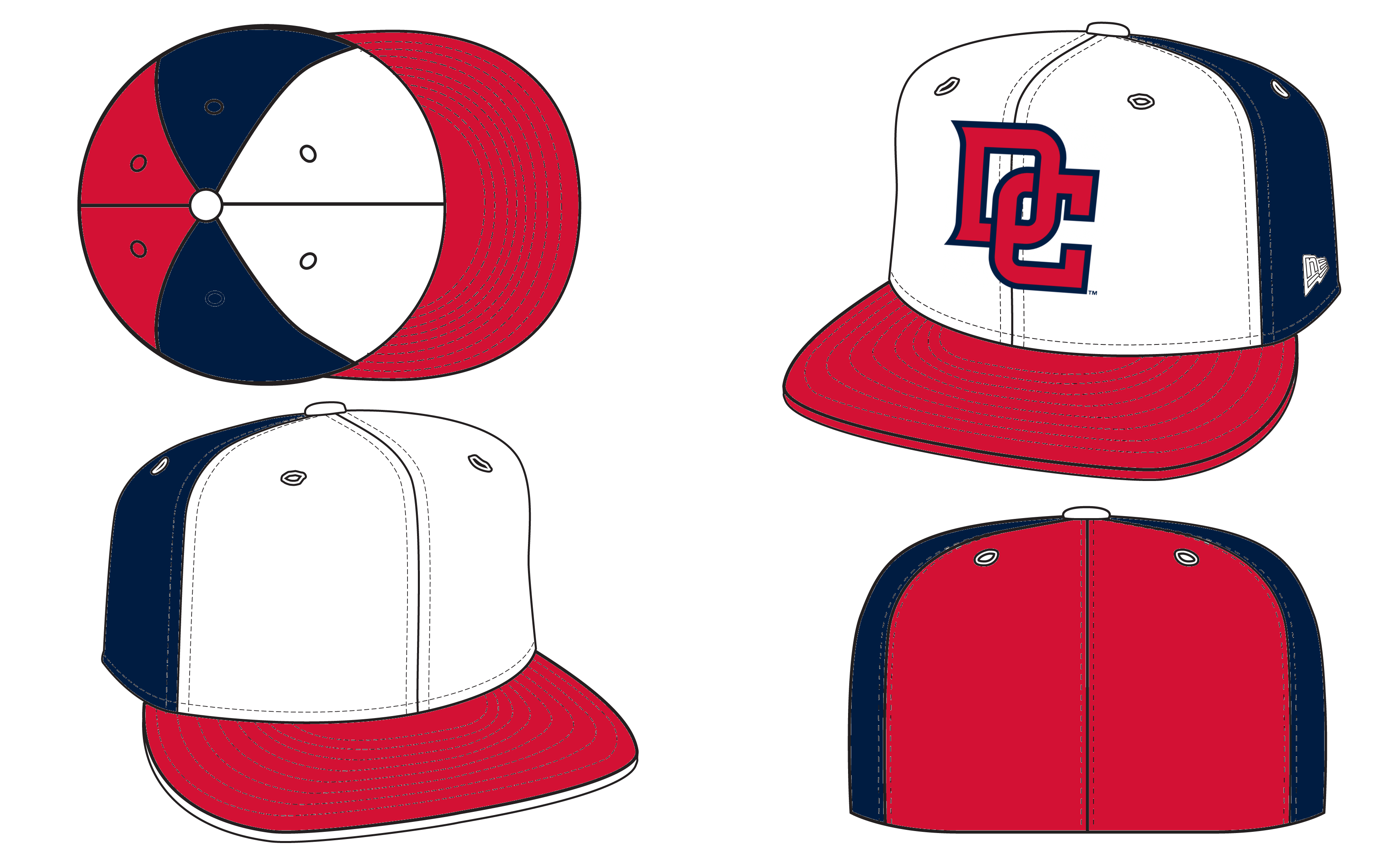Ripping baseball clipart image freeuse stock A Couple New Caps and Revised Logos for MLB Teams - Concepts - Chris ... image freeuse stock